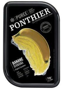 מחית בננה קפואה